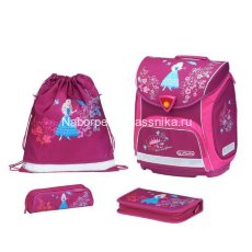 Ранец Herlitz Sporty с наполнением Flower Princess 11351939