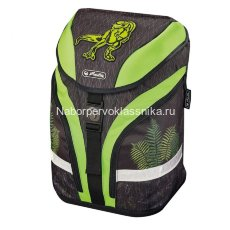 Ранец Herlitz Motion Green Dino 50013685